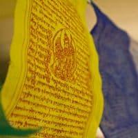 String of 10 Tibetan Prayer Flags - Clouds Online